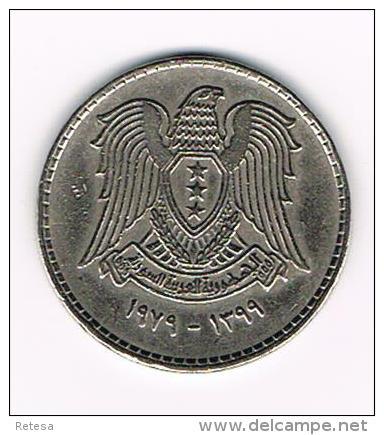 ° SYRIA   1 POUND  1979 - Syrie