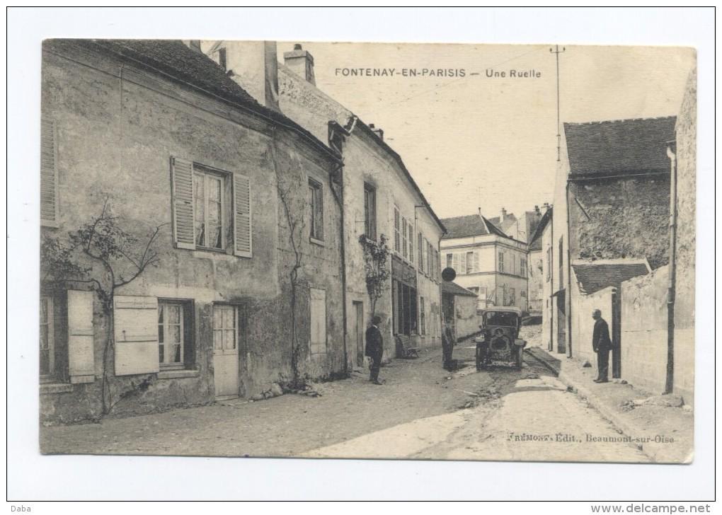 Fontenay-en-Parisis. Une Ruelle. - Non Classés