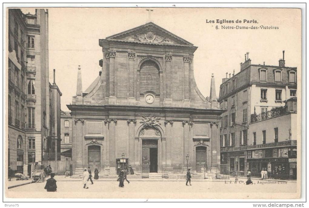 75 - PARIS - Les Eglises De Paris - 6 - Notre-Dame-des-Victoires - Eglises