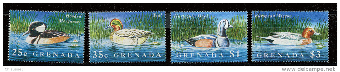 Grenade **  N° 2513 à 2516  - Oiseaux :aquatiques - Grenada (1974-...)