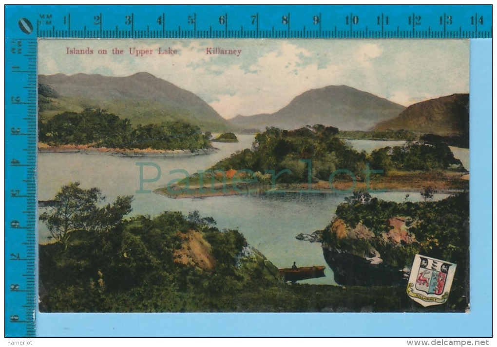 Killarney.( Island On The Upper Lake With Coat Of Arms )  2 SCAN - Kerry