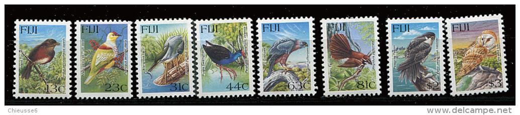 Fidji ** N° 747 à 754 - Oiseaux (I) - Fiji (1970-...)