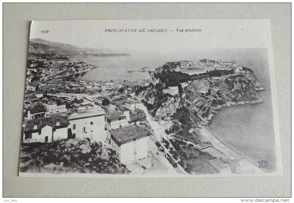 PRINCIPAUTE DE MONACO - VUE GENERALE - 1132 - Monte-Carlo