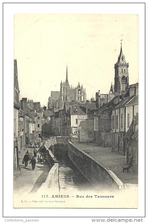 Cp, 80, Amiens, Rue Des Tanneurs - Amiens