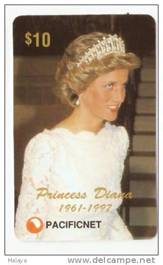 PRINCESS DIANA PHONECARD   $10  AUSTRALIA , 1997. LIMITED EDITION OF 2000 B - Phonecards