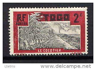 TOGO - N° 125* - LE COCOTIER - Ungebraucht