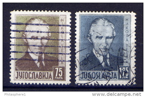 Jugoslawien Nr.326/7         O  Used       (182) - 1931-1941 Königreich Jugoslawien