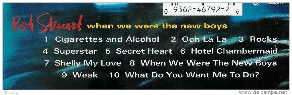 ROD  STEWART  * WHEN WE WERE THE NEW BOYS * - Rock
