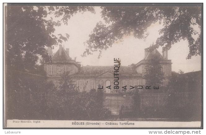 33--BEGLES--Chateau Tartifume - Autres Communes