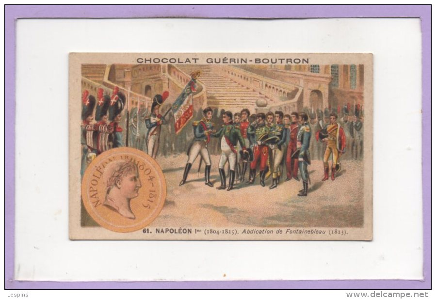 GUERIN - BOUTRON -- Histoire De France ( Evenement Politique ) - N° 61 - Guérin-Boutron