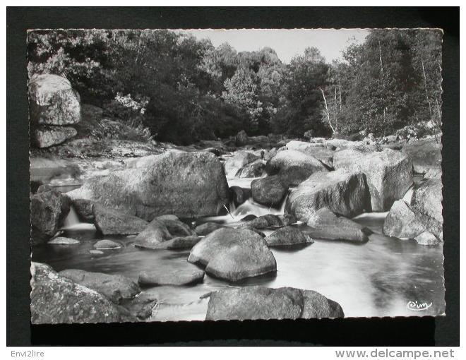 Ref2912 B1325 Carte Photo De Nedde - Un Coin Pittoresque N°401 Rivière - Torrent Montagne - Combier Imp. CIM 1966 - Frankrijk