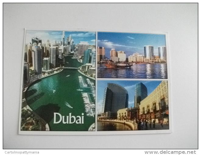 STORIA POSTALE FRANCOBOLLO COMMEMORATIVO Dubai The New Face Lift - Emirati Arabi Uniti