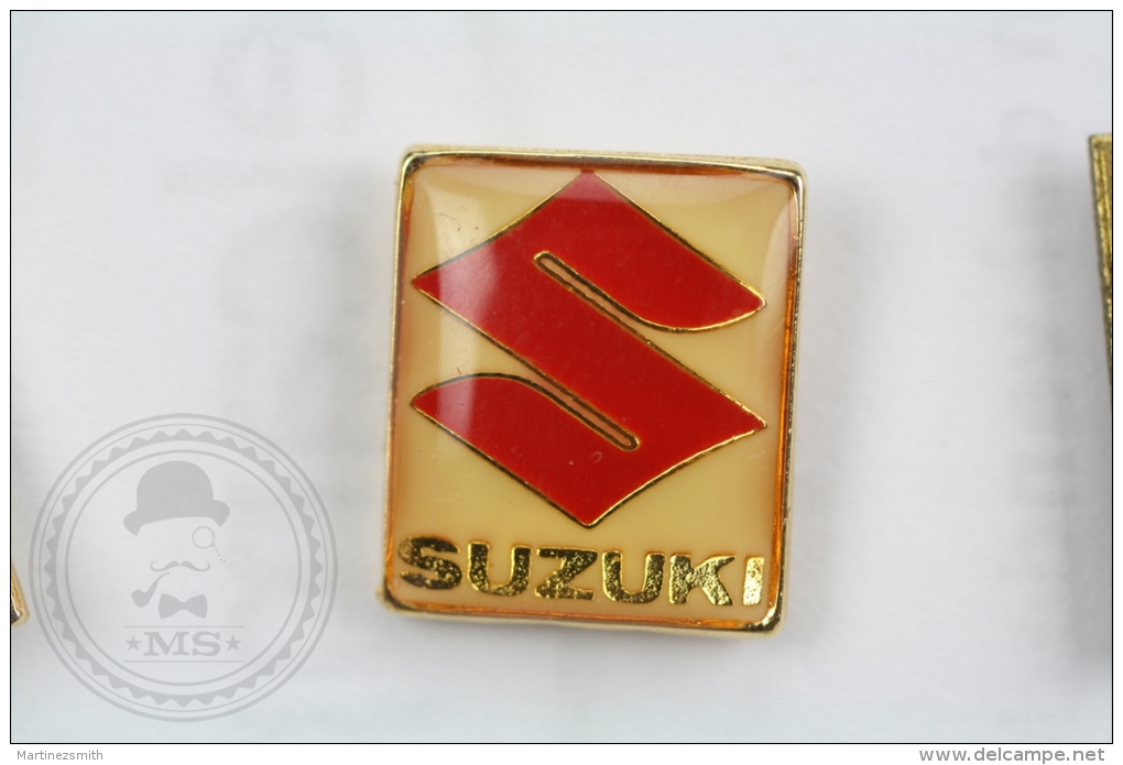 Suzuki Logo - Pin Badge #PLS - Otros