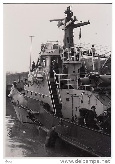Foto's:Aanvaring A950 Valcke Met Ferry European Enterprise Nabij Zeebrugge In 1985 - Documenten