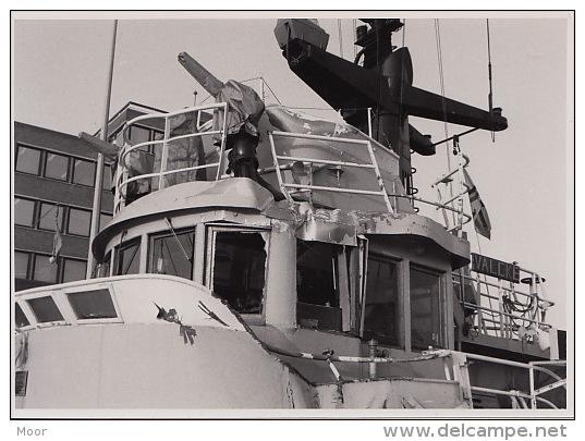 Foto's:Aanvaring A950 Valcke Met Ferry European Enterprise Nabij Zeebrugge In 1985 - Documenti