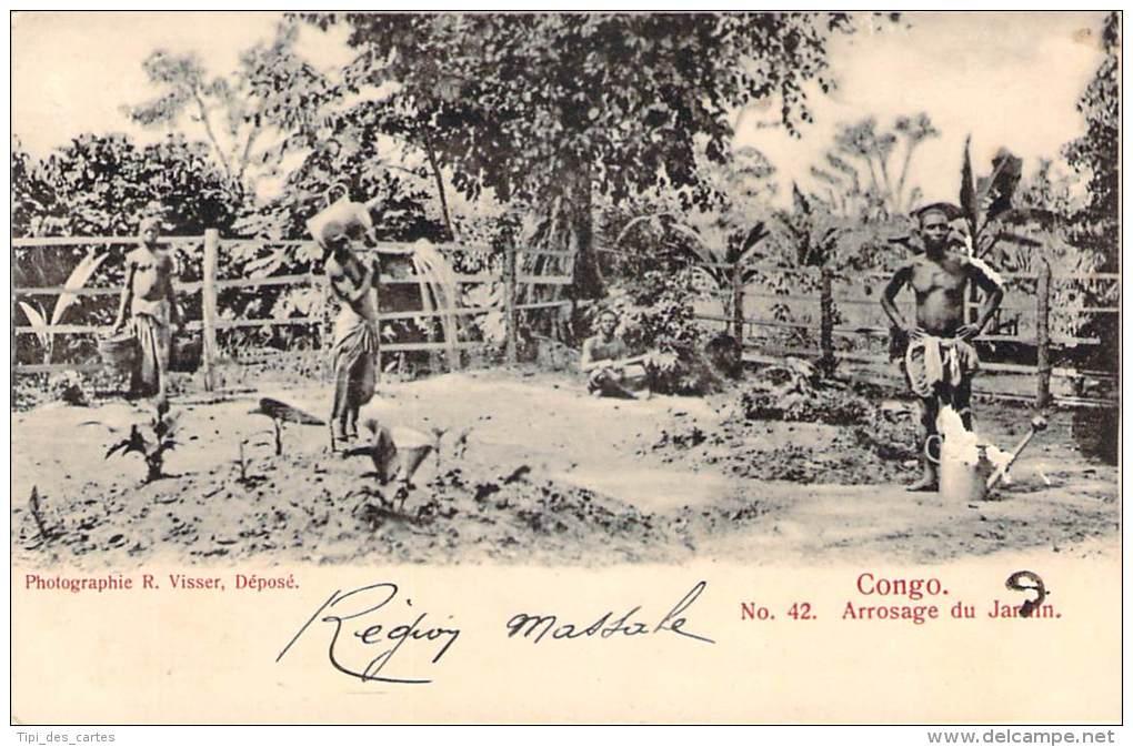 Congo - Arrosage Du Jardin - Congo - Brazzaville
