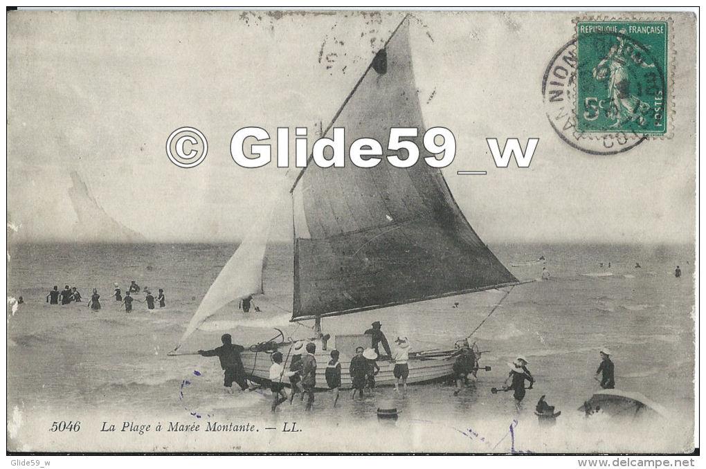 LANNION (timbre à Date) - La Plage à Marée Montante (animée) - N° 5046 - Lannion