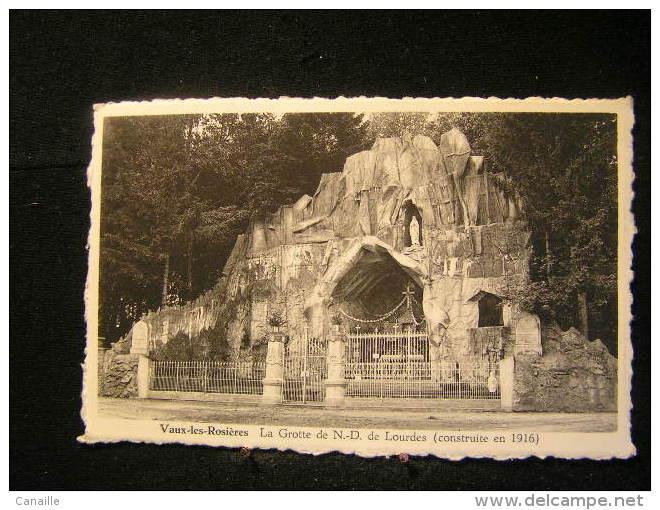 N/s-52 /  Luxembourg - Vaux-sur-Sûre / La Grotte De N.-D. De Lourdes (Construite En 1916)   / Non Circulé  .- - Vaux-sur-Sûre