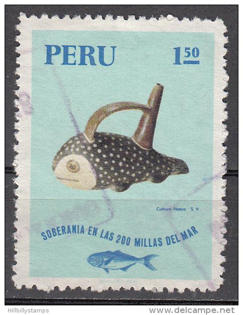 Peru   Scott No. 545   Used   Year  1971 - Peru