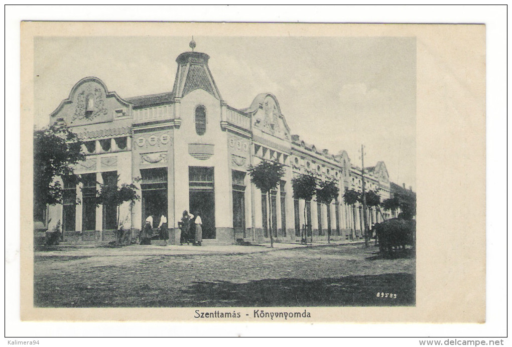 SERBIE  /  SZENTTAMÀS  /  KÖNYVNYOMDA   ( église Russe ? ) - Serbie