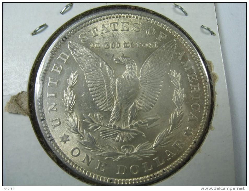US USA 1 ONE DOLLAR MORGAN COIN SILVER 1921    LOT 10 NUM 207 - 1878-1921: Morgan