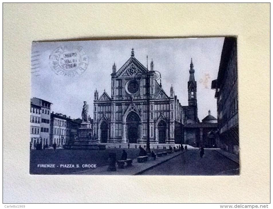PIAZZA SANTA CROCE VIAGGIATA. M - Firenze
