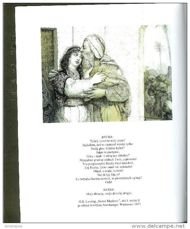 """POLOGNE  Fascicule  """"AGRA-ART"""" Sur  MAURYCY GOTTLIEB-POWITANIE  12 PAGES GRAVURE ET TEXTES EN POLONAIS - Livres, BD, Revues"""