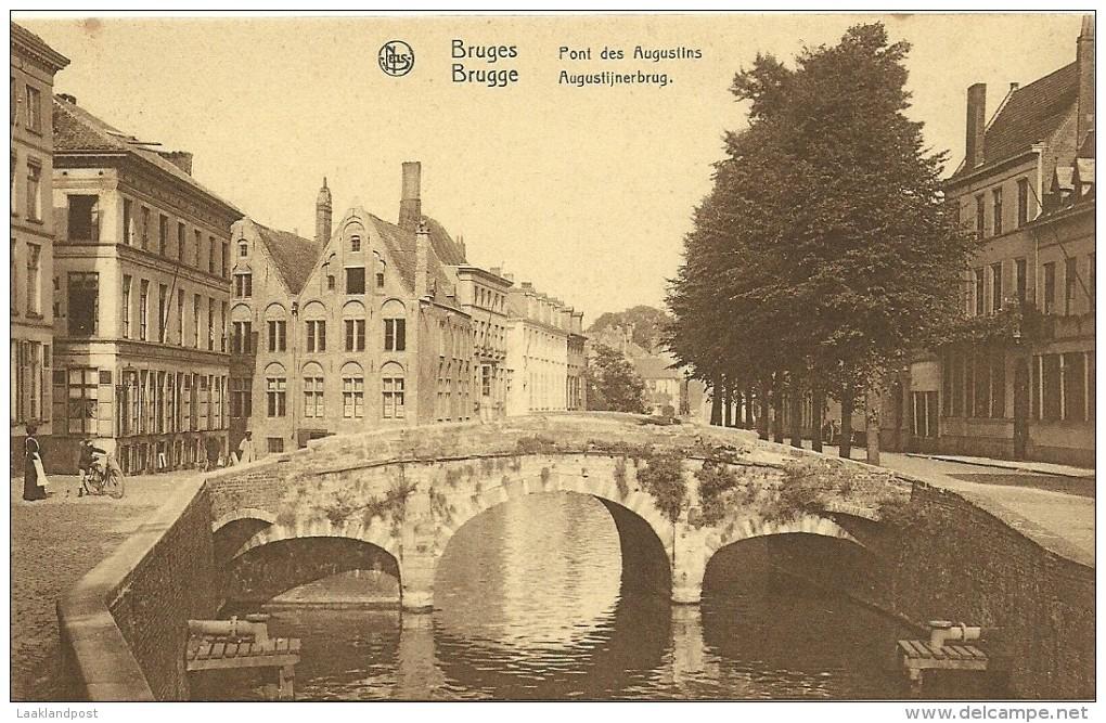 Old Picturecard Brugges Pont Des Augustins, Augustijnerbrug - Brugge