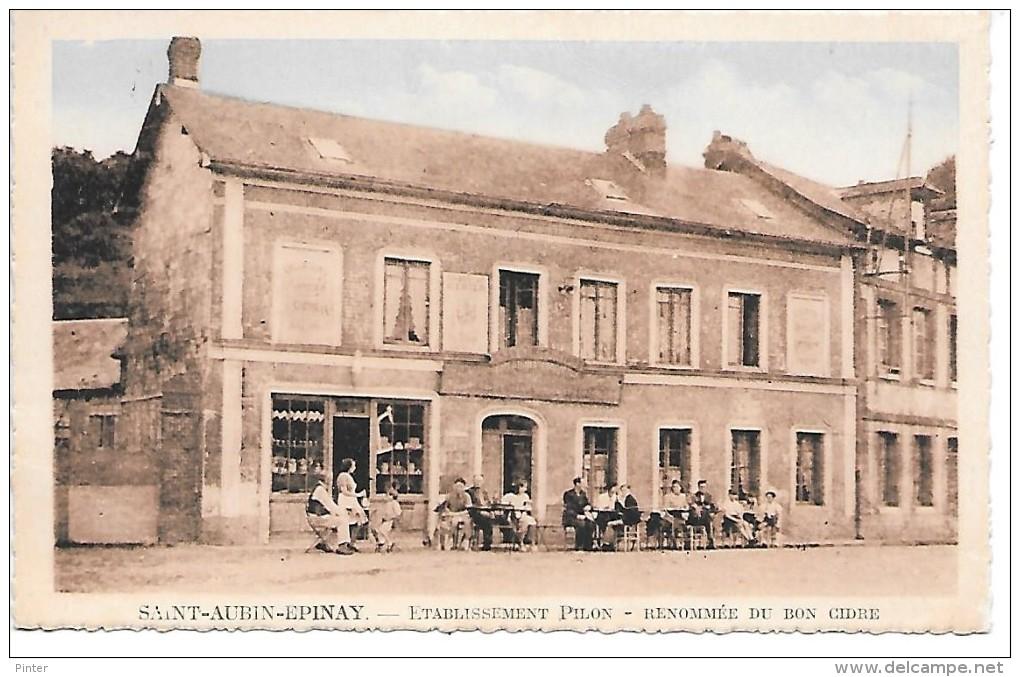 SAINT AUBIN EPINAY - Etabilssement Pilon - France