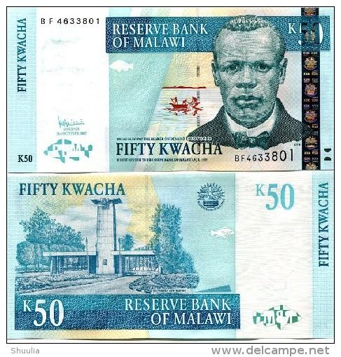 Malawi 50 Kwacha 2007  Pick 53 UNC - Malawi