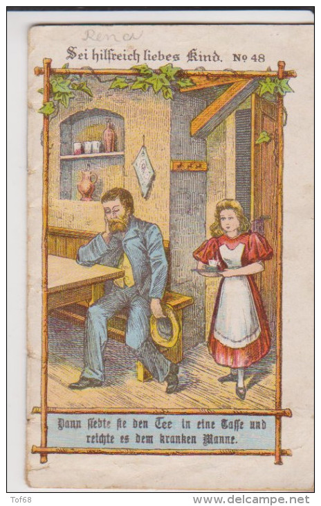 Kleine Heft 1921 Sei Hilfreich Liebes Kind Nr 48  Konnenmeierer Kinderschriften - Christianisme