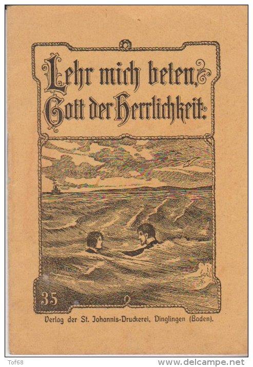 Kleine Heft Lehr Mich Beten Gott Der Herlichkeit Nr 35 St Johannis Druckerei Dinglingen - Christianisme