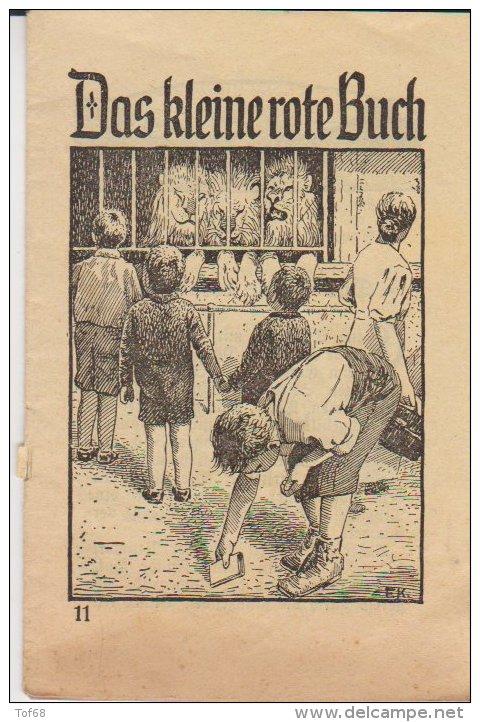 Kleine Heft 1947 Der Kleine Rote Buch Nr11 St Johannis Druckerei Dinglingen - Christianisme