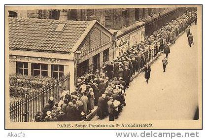 CPA Paris 3e (Dep.75) Soupe Populaire Du 3e Arrondissement (56666) - Francia
