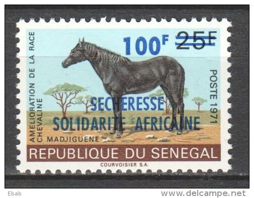 Senegal 1973 Mi 525 MNH HORSE - Paarden