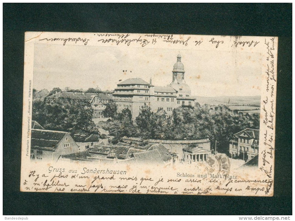 AK - Gruss Aus Sondershausen - Schloss Und Marktplatz ( Kosmos ) - Sondershausen