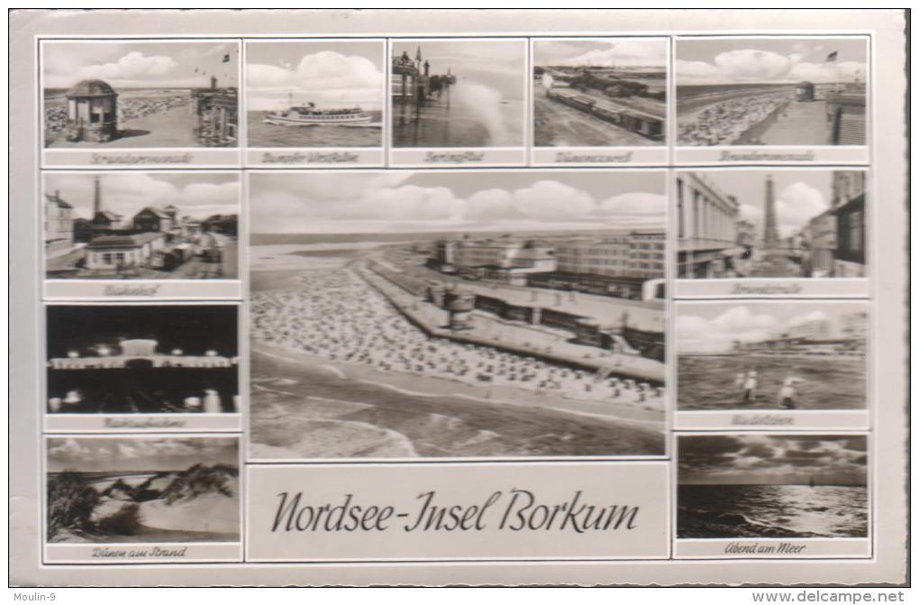CARTE POSTALE - NORDSEE INSEL BORKUM - - Borkum