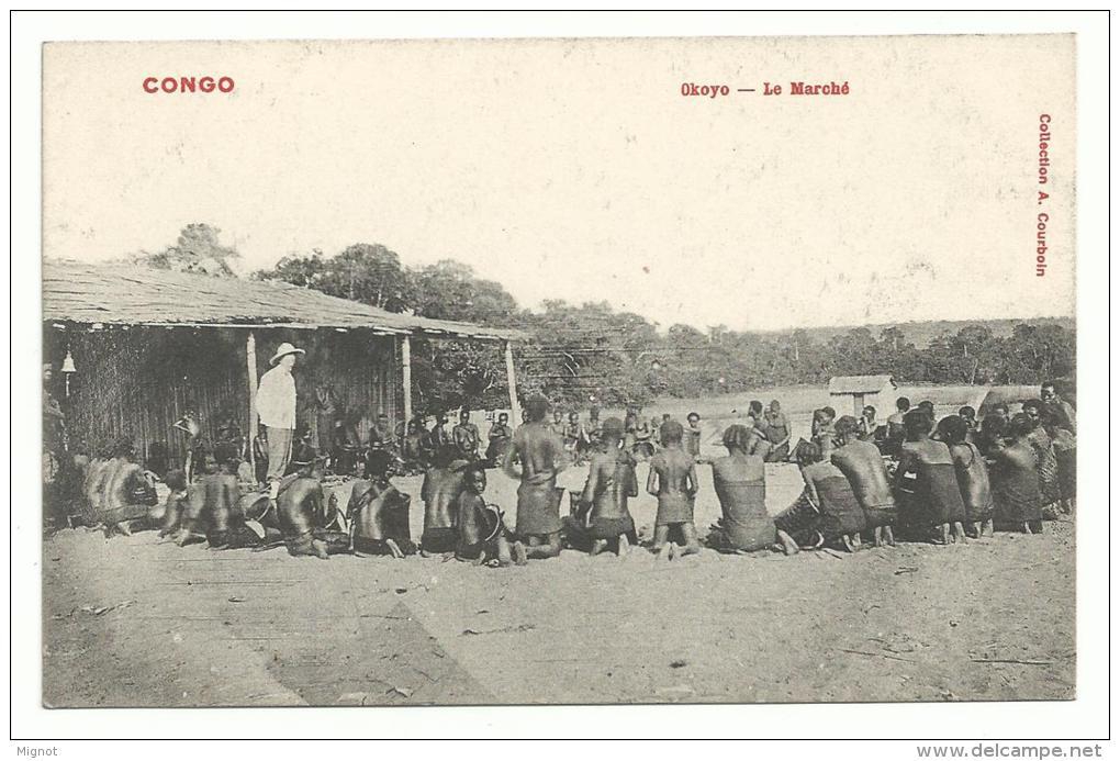 CPA AFRIQUE CONGO -  Okoyo - Le Marché - Französisch-Kongo - Sonstige