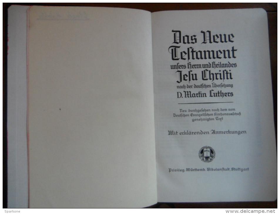 Das Neue Testament (D. Martin Ltuthers) De 1940 - Christianisme
