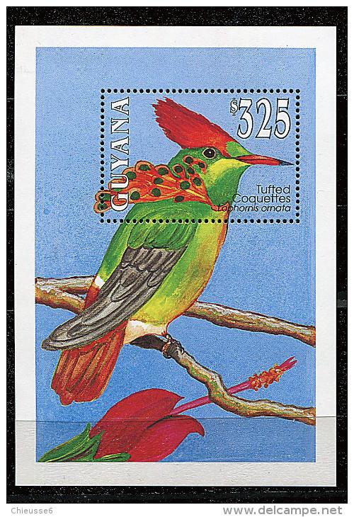Guyane ** Bloc N° 119  - Oiseaux Exotiques - Guyana (1966-...)