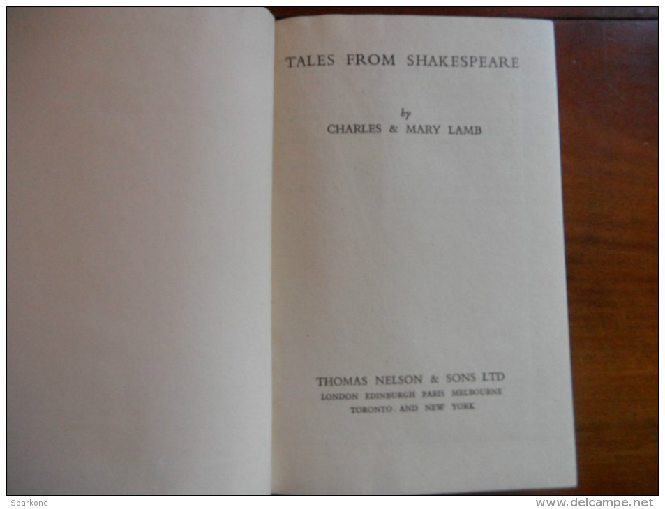Tales From Shakespeare (Charles & Mary Lamb) - Philosophie