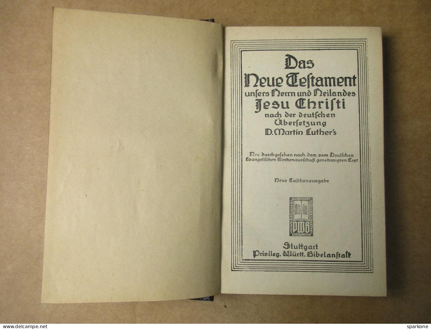 Das Neue Testament  (D. Matin Luther's) De 1923 - Christianisme