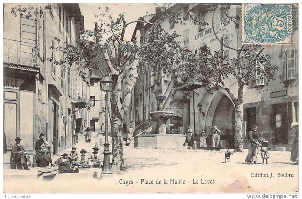 13 - Cuges - Place De La Mairie, Le Lavoir - Other Municipalities