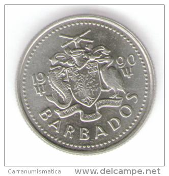 BARBADOS 10 CENTS 1990 - Barbades
