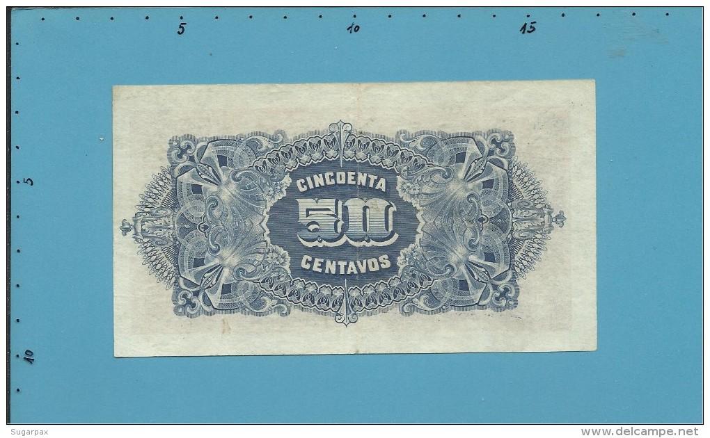MOZAMBIQUE - 50 Centavos - 15.09.1919 - P R3b - BANCO DA BEIRA - PORTUGAL - Mozambique