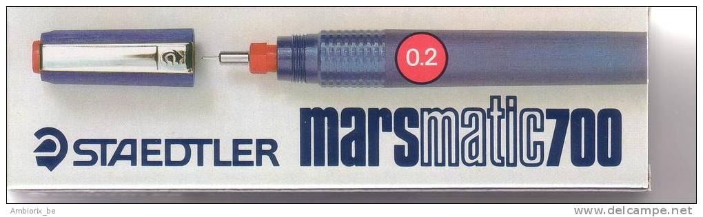 Stylo Staedtler Marsmatic 700 Plume 0.2 - Pens