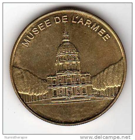Musée De L´Armée : Médaille Des Musées Et Châteaux De France - Touristiques
