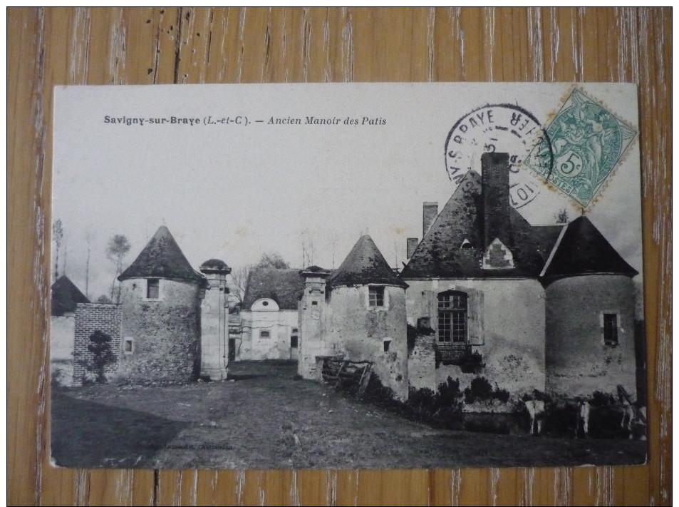CPA SAVIGNY SUR BRAYE - ANCIEN MANOIR DES PATIS - - France