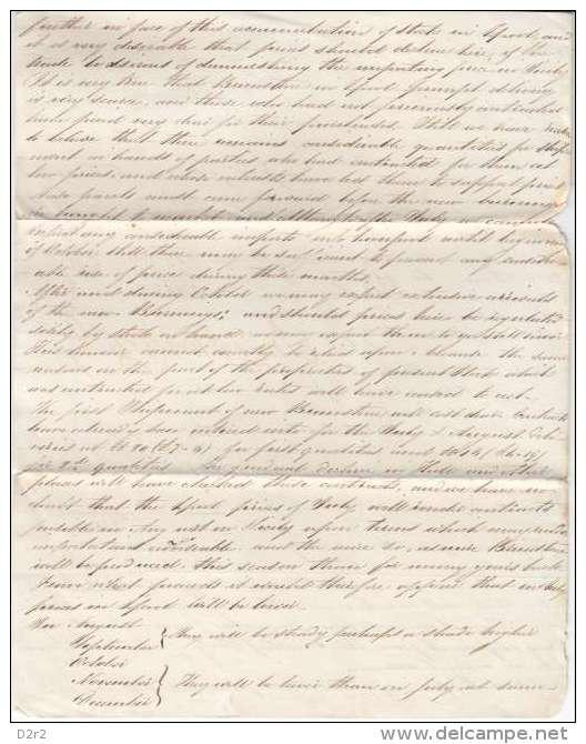 FACTURE ,MANCHESTER DE 1832 POUR LIVERPOOL-V/IMAGES - Royaume-Uni