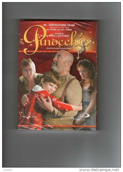 PINOCCHIO - Rai Fiction - Regia Alberto Sironi - DVD NUOVO  ORIGINALE Cellofanato - Serie E Programmi TV